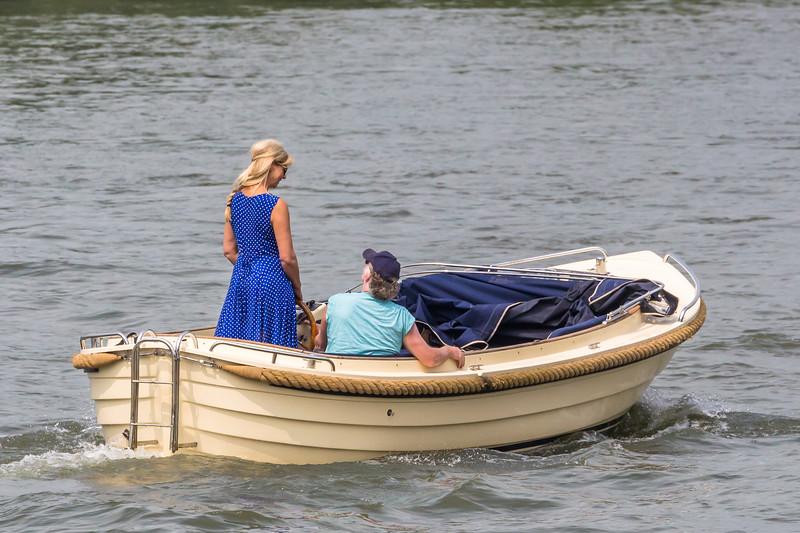 Boten op de IJssel