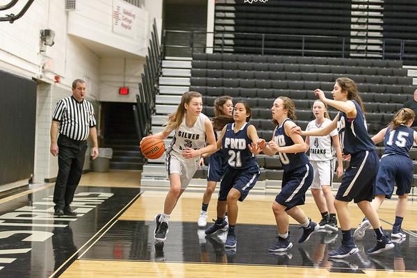 GHS Girls Freshman vs Peoria Notre Dame Jan. 6, 2018