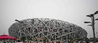 Beijing National Stadium a.k.a. Bird's Nest, China, 2009