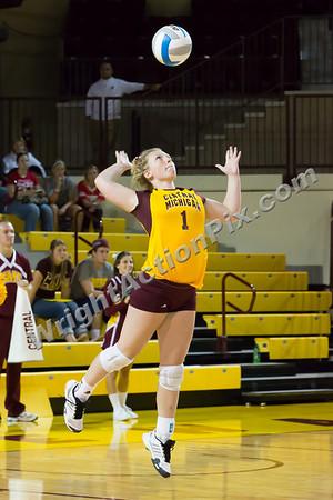 2012 09 15 CMU Womens Volleyball vs IPFW