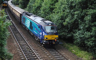 68016 TnT 68017 1Z90 London Euston-Leeds Northern Belle charter