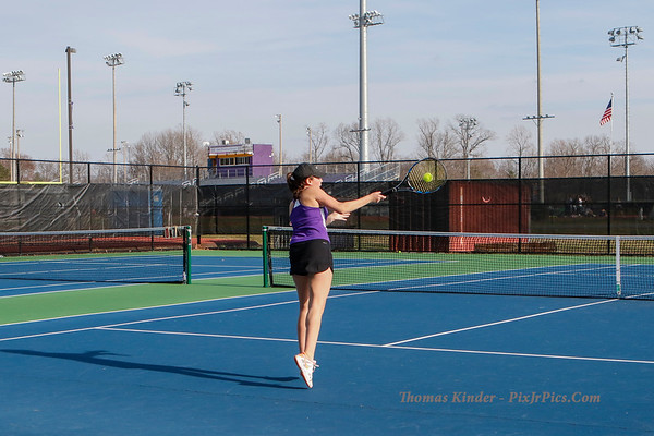 Girls Tennis vs Mount Vernon 3/21/17