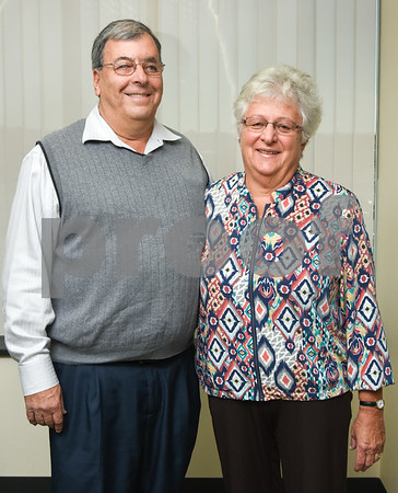 10/19/17 Wesley Bunnell | Staff Frank and Mary Marrocco of the New Britain Lions Club.