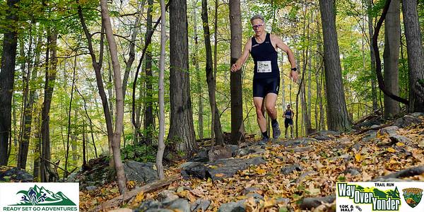 Part 1-Way Over Yonder 10K & Half Marathon Trail Run 10/11/20