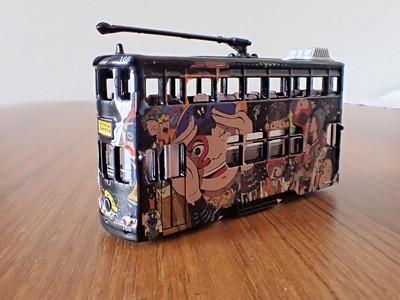 62 Hong Kong Tram Comix livery