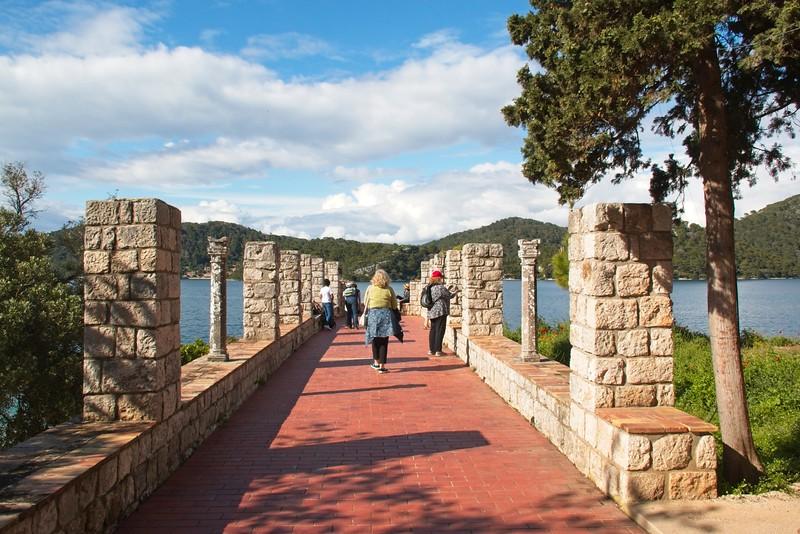 St Mary's Island, Mljet Lakes National Park, Croatia