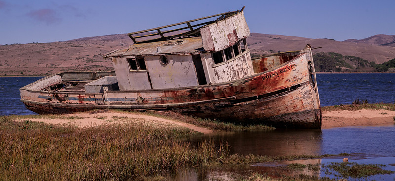 The Old Boat at Point Reyes