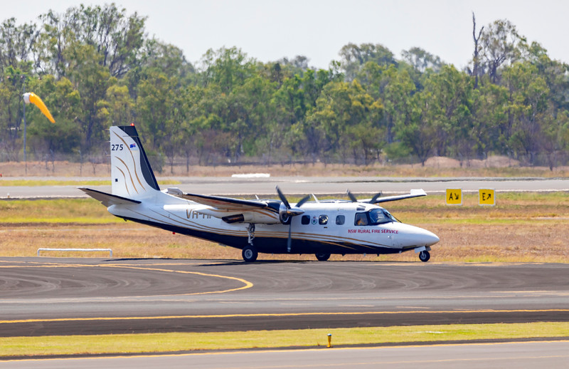 NSW Rural Fire Service Gulfstream Jetprop Commander