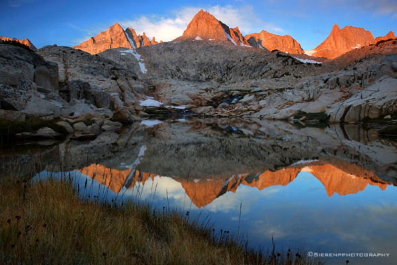 Granite Reflection - 2006 John Muir Wilderness - Eastern Sierra Nevada Mountain Range, California