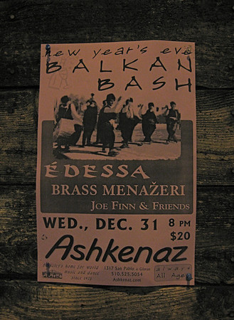 New Year's Eve at Ashkenaz