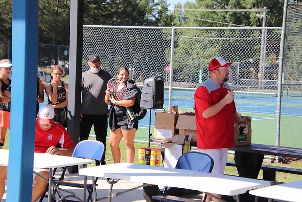 WHS Varsity Girls Tennis @ 4A Regional  100518