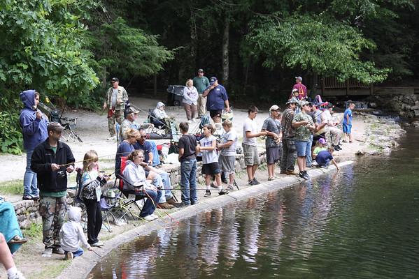 Kids Fishing Day - June 2012