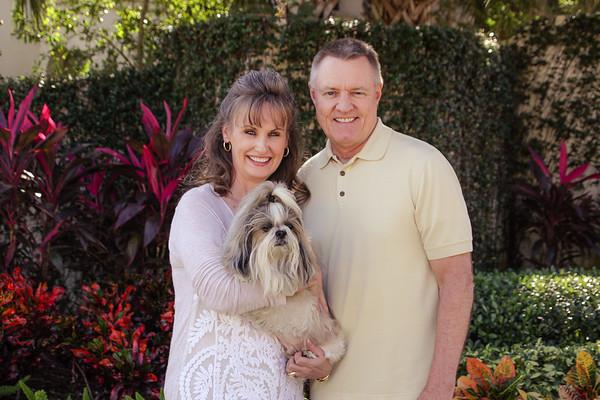 11-26-17 Mark, Presley & Me in FL for Thanksgiving