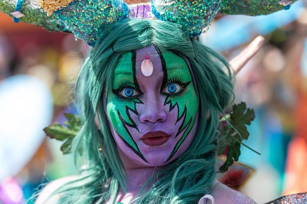 The 2014 Coney Island Mermaid Parade