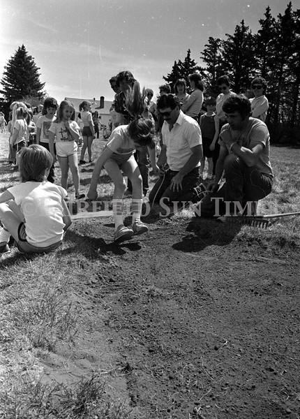 May 1987 Teton County Rural Track Meet at Greenfield