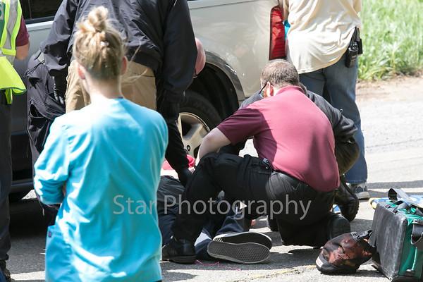 Pedestrian Hit By Car On Bristol Highway 04-22-15