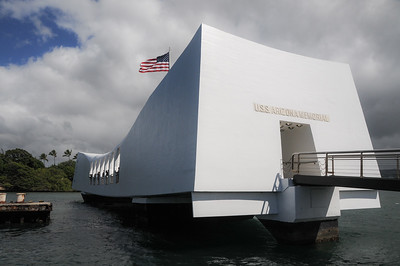USS Arizona Memorial at Pearl Harbor, HI