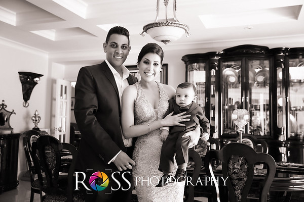 Antonia, Siddiq & Family