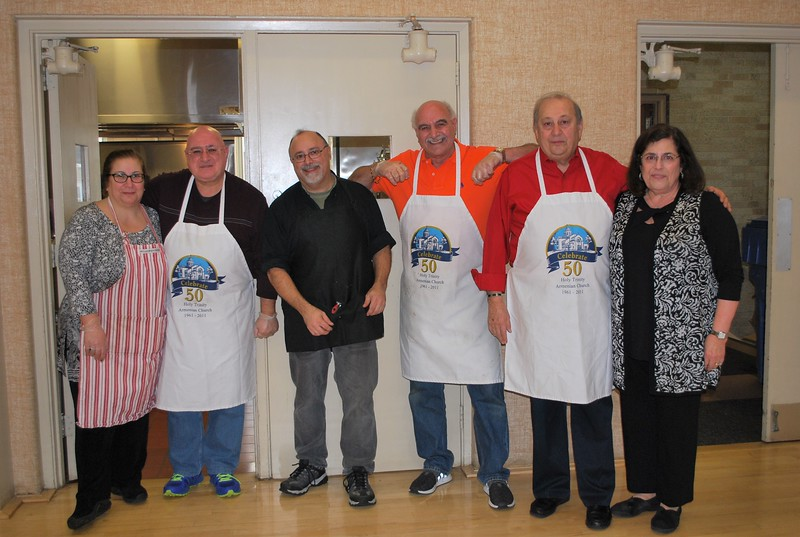 Behind every delicious meal, stands a dedicated crew of talented parishioners.