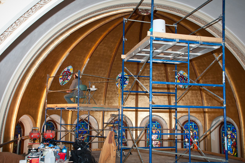Restoration of St. Mary In Brenham Texas