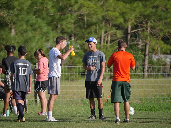 ECHS Soccer Practice 8/8/18