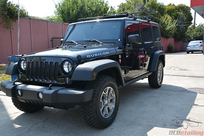 2017 Jeep Wrangler Rubicon - Black Clear Coat Exterior Paint