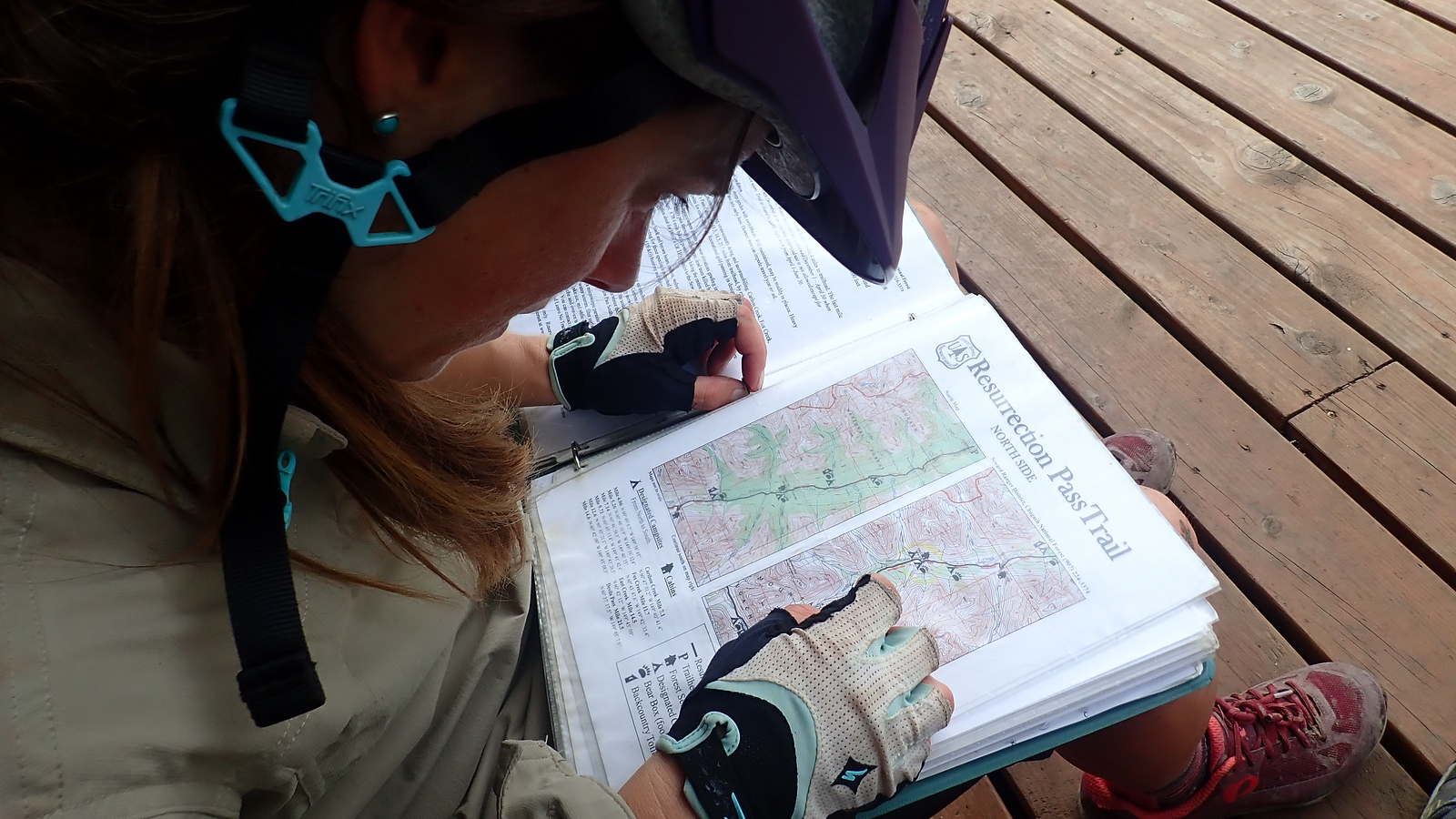 Julie map reading