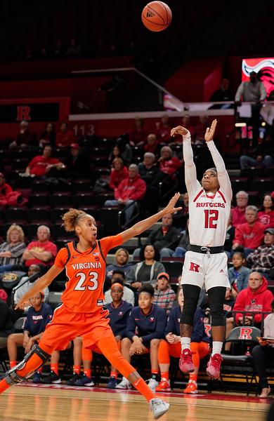 Rutgers Defeats Virginia 73-63