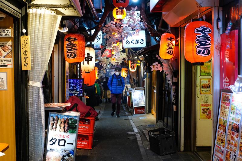yakitori Alley, shinjuku, Tokyo, Japan