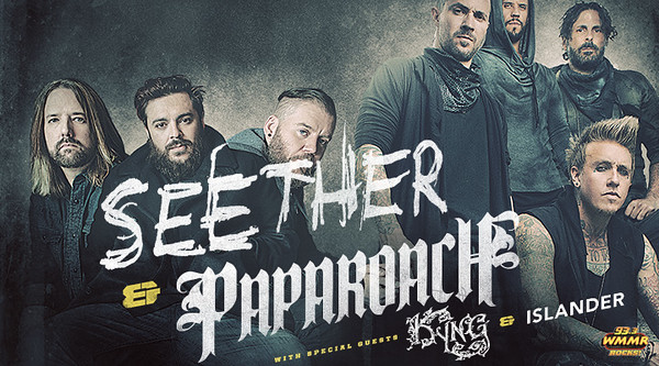 Seether and Papa Roach