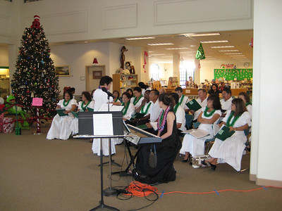 Performance at the Kapolei Library (12/6/08)