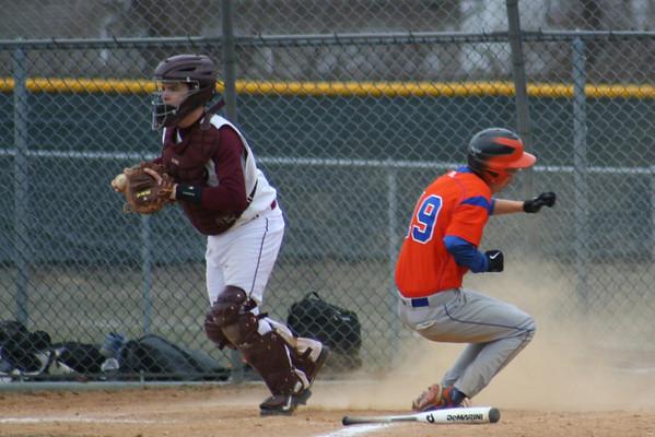JV Baseball Scrim vs. Keansburg 3/28/2014
