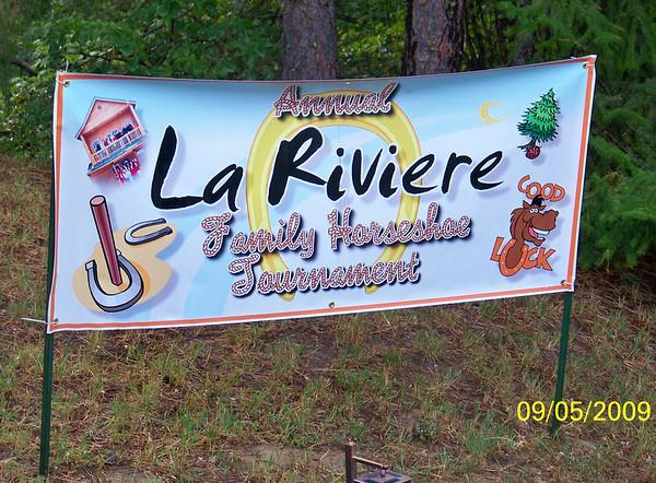 LaRiviere Horseshoe Competition - 2009
