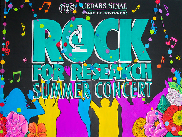 Cedars Sinai Rock For Research
