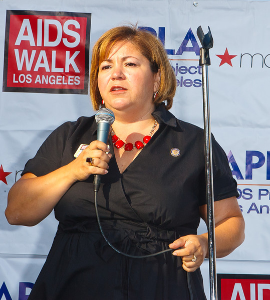 Linda Sanchez US House Representative 27th ANNUAL AIDS WALK LOS ANGELES