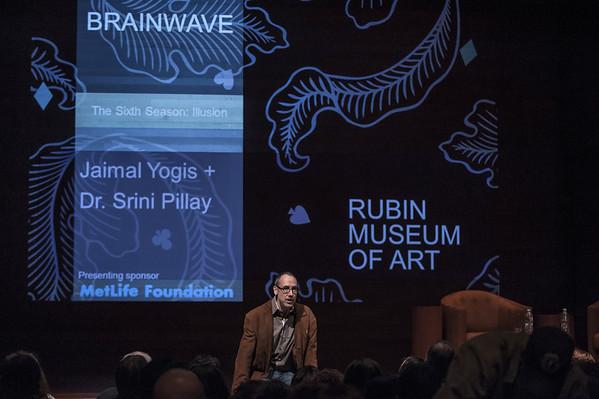 Jaimal Yogis + psychologist Srini Pillay on fear as illusion