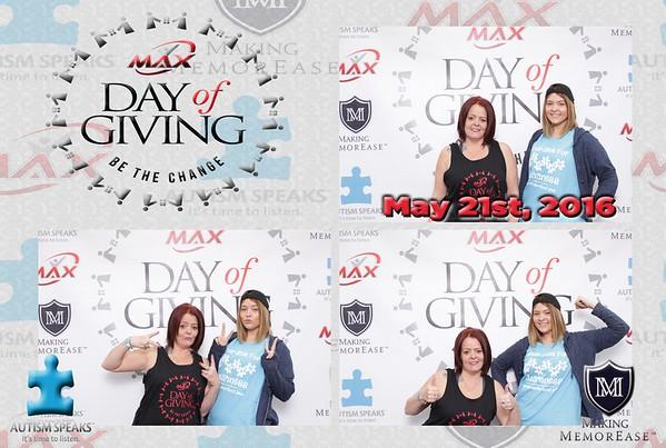 The Max Challenge Autism Speaks fundraiser