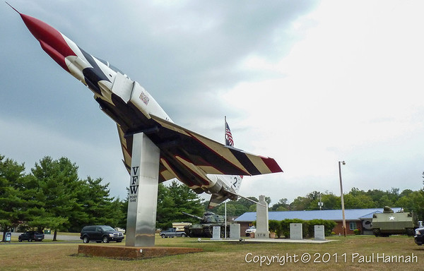 VFW Post 5146 - Athens, TN - M59, M60A3, F4