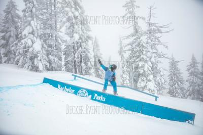 Random Snowboard slope