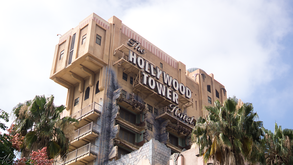 Disneyland Resort, Disney California Adventure, Hollywood Land, Twilight, Zone, Tower, Terror