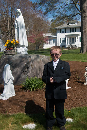 Casey's First Communion