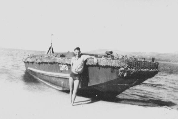Apra Harbor, Guam, 1945
