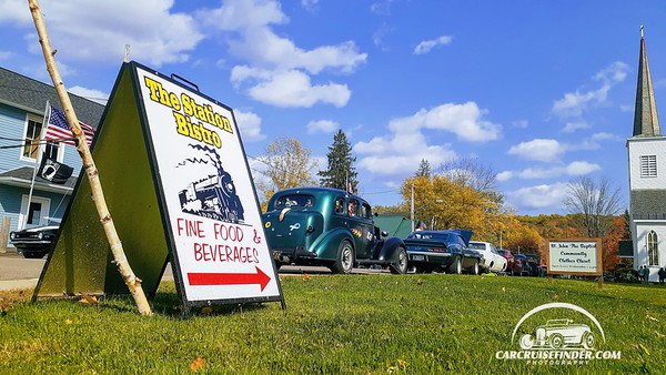 Car Show at The Station, West Valley NY 10-10-2020