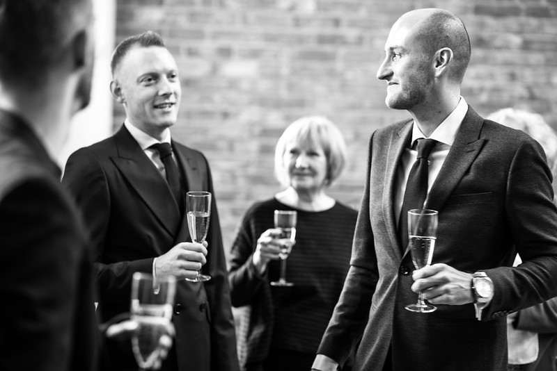 Tom and Patrick, London Documentary Wedding Photography