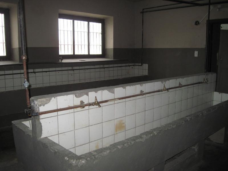 Prison Washroom