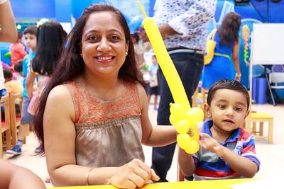 Vehaan and Oviya Birthday 2014