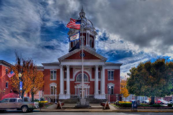 West Virginia Wesleyan College and Buckhannon surrounding area