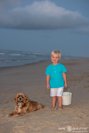 Frisco, Hatteras Island, Sunrise, Family Portaits, Epic Shutter Photography