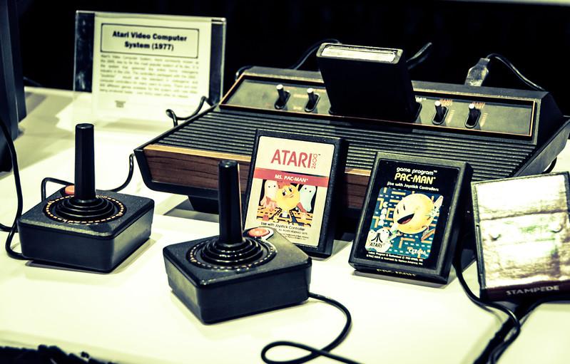 Atari 2600 at E3 2012