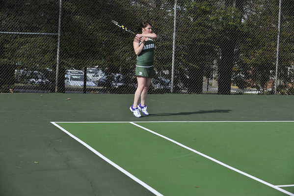 BABSON WOMENS TENNIS  4.5.2012